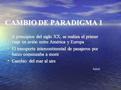 (Ejemplo del significado de un paradigma.)