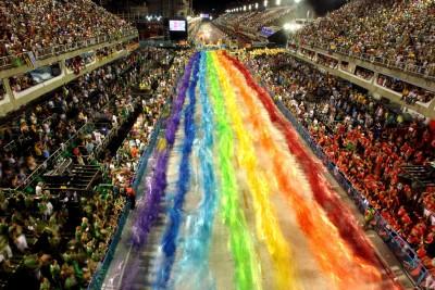 (Significado de carnaval. Imágen carnaval de Río de Janeiro.)