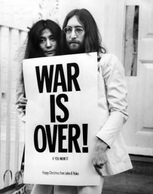 (Significado de la Paz. Imagen: John Lennon)