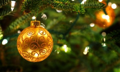 (Elementos de la celebración. El árbol de navidad.)