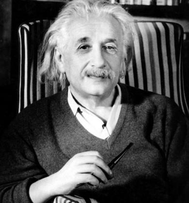 (Albert Einstein. Premio Nobel de Física en 1922.)