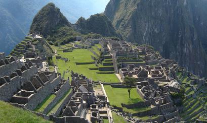 (Las Ruinas de Machu Pichu. Patrimonio cultural.)