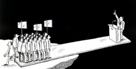 (En democracia, el pueblo es el soberano)