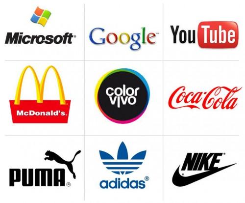 (Algunos ejemplos de logotipos)