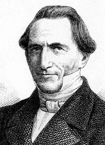 Federico Julio Stahl. (1802-1861).