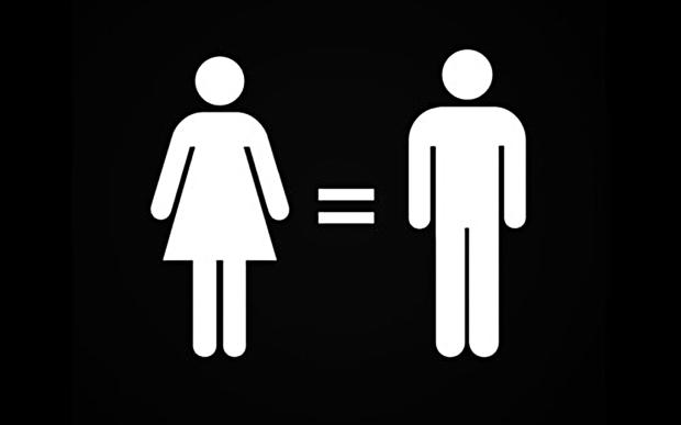 (El feminismo busca la igualdad entre ambos sexos)
