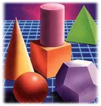 (La geometría estudia a las figuras en el espacio)