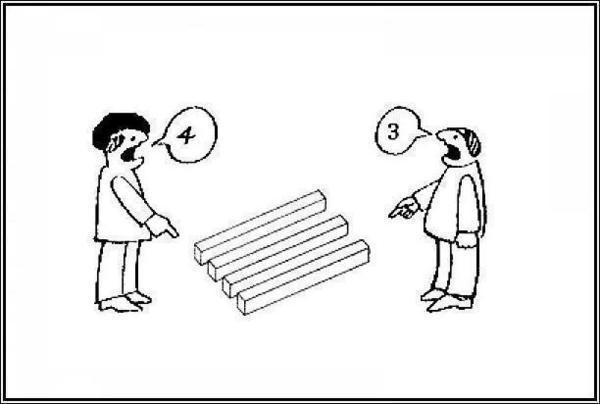 (La percepción es subjetiva)