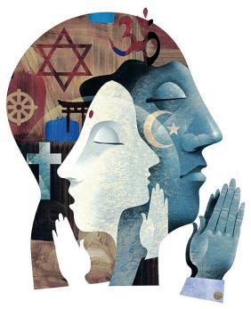 (Una teocracia es un gobierno guiado por la religión)